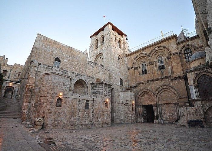 Ο Ναός της Αναστάσεως στα Ιεροσόλυμα